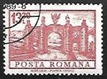 Sellos de Europa - Rumania -  Alba Iulia - Puerta de la ciudad