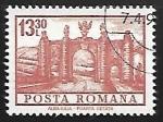 Stamps Romania -  Alba Iulia - Puerta de la ciudad