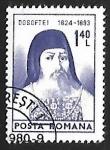Sellos de Europa - Rumania -  Bishop Dosoftei (1624-1693)
