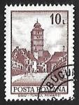 Sellos de Europa - Rumania -  Torre de Sibiu