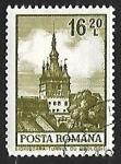 Sellos de Europa - Rumania -  El reloj de la torre de Sighisoara