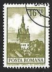 Stamps of the world : Romania :  El reloj de la torre de Sighisoara