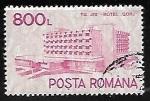 Sellos de Europa - Rumania -  Hotel Gorj, Tirgu Jiu