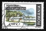 Sellos de Europa - Rumania -  Monasterio Dintr'un Lemn