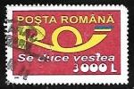 Sellos de Europa - Rumania -  Servicios Postales