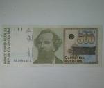 monedas de America - Argentina -  500 australes