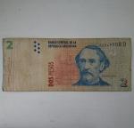 monedas de America - Argentina -  2 pesos