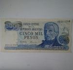 monedas de America - Argentina -  5000 pesos