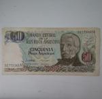 monedas de America - Argentina -  50 pesos