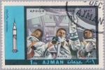 Sellos de Asia - Emiratos Árabes Unidos -  Programa Apollo: Apolo 1-12, Ajman