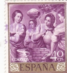 Stamps : Europe : Spain :  REBECA Y ELIZER- MURILLO (33)