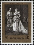 Sellos de Europa - Polonia -  Stanislaw Moniuszko (1819-1872), compositor
