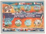 Sellos del Mundo : America : México : Campeonato mundial de fútbol México 1986