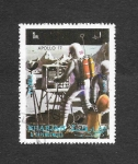 Stamps United Arab Emirates -  Mi991A - Apolo 17