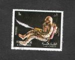 Sellos del Mundo : Asia : Emiratos_Árabes_Unidos : Apolo 17