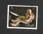 Stamps United Arab Emirates -  Apolo 17