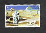 Sellos de Asia - Emiratos Árabes Unidos -  Mi985A - Apolo 16