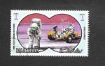 Stamps United Arab Emirates -  Yt PA79-A - Apolo 15