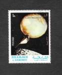 Stamps United Arab Emirates -  Exploración de Planetas