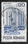 Stamps Romania -  Hotel International, Băile Felix