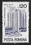 Sellos de Europa - Rumania -  Hotel International, Băile Felix