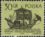 Sellos de Europa - Polonia -  Veleros (1ra serie)
