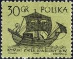 Stamps Poland -  Veleros (1ra serie)