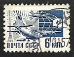 Sellos de Europa - Rusia -  Modern Means mail delivery