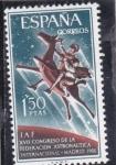 Stamps : Europe : Spain :  XVII CONGRESO DE LA FEDERACIÓN ASTRONÁUTICA INTERNACIONAL(33)