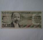monedas de America - México -  500 pesos