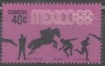 Sellos del Mundo : America : México : decimos novenos juegos olimpicos de México 68 Pentathlon