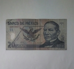 monedas de America - México -  2005 - 20 pesos
