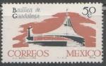 Sellos de America - México -  Basilica de Guadalupe México d.f