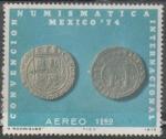 Sellos del Mundo : America : México : Convención numismática internacional México 1974