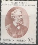 Sellos de America - México -  JULIO VERNE LXXV ANIVERSARIO DE SU MUERTE