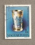 Sellos de Europa - Hungría -  Caliz Museo Judío