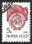 Stamps Russia -  Banderas | Escudo de Armas