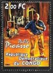 Sellos del Mundo : Africa : República_Democrática_del_Congo :  Pablo Picasso