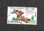 Stamps Spain -  JJOO México