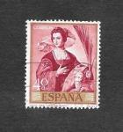Stamps Spain -  Edf 1910 - Pintura
