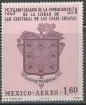 Sellos de America - México -  400 ANIVERSARIO DE LA FUNDACIÓN DE SAN CRISTOBAL DE LAS CASAS,CHIAPAS