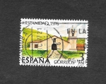 Stamps : Europe : Spain :  Edf 2373 - Hispanidad. Costa Rica.