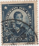 Stamps America - Chile -  Y & T Nº 136