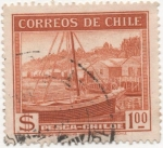 Stamps Chile -  Y & T Nº 174