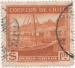 Stamps America - Chile -  Y & T Nº 174 [1]