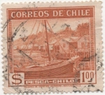 Stamps Chile -  Y & T Nº 174 [2]