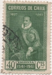 Stamps Chile -  Y & T Nº 181