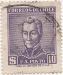 Stamps : America : Chile :  Scott Nº 295