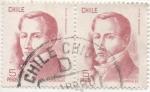 Stamps America - Chile -  Scott Nº 484 x2