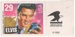 Sellos del Mundo : America : Estados_Unidos : ELVIS PRESLEY EL REY DEL ROCK AND ROLL 1993
